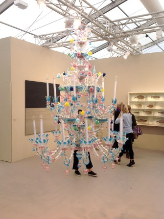 Cerith Wyn Evans, Witness (after Iannis Xenakis) 2011: White Cube London
