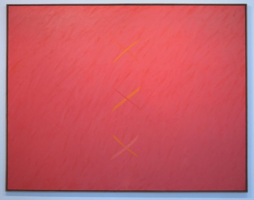 Claudio Verna Verticale 1975 140x180cm