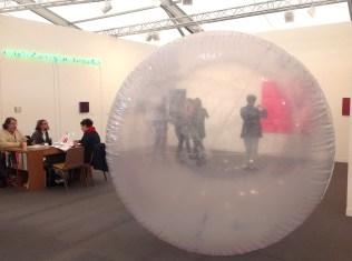 Gerwald Rockenschaub pvc inflatable, Georg Kargl fine arts Vienna