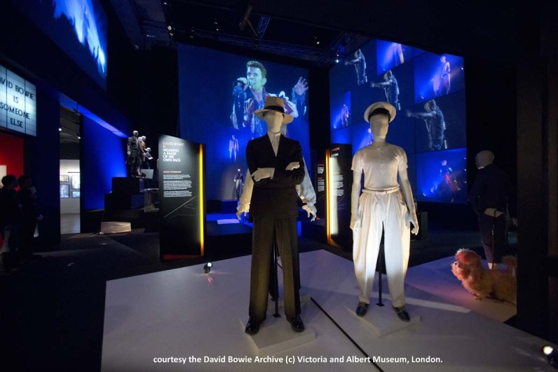 Installation Shot of David Bowie is courtesy David Bowie Archive (c)Victoria and Albert Museum,London(8)
