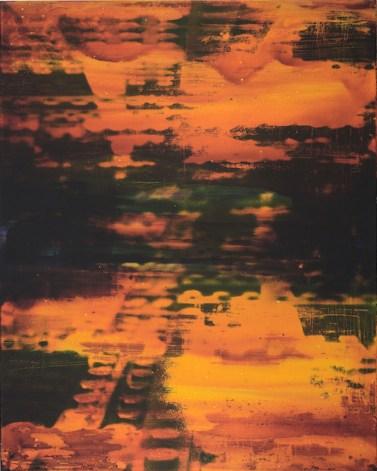 Matteo Negri, 2015, Isn't really orange, 100x80x6 cm, flatbed print on alluminium and mixed media