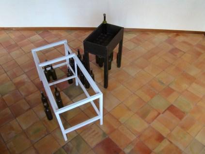 Modelo para armar, legno, vetro, terracotta. Dimensioni variabili, 2005