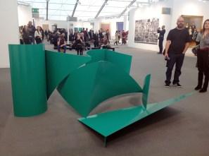 Philip King, green streamer 1970 - at Thomas Dane Gallery London