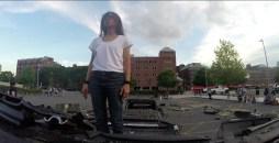 Regina Galindo,Frame video Big Bang, 2014 (3)