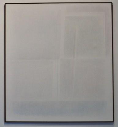Riccardo Guarneri Una linea inclinata 105x95 1971