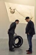 Fabio Viale, Potenza, 2016. Galleria Poggiali e Forconi, Firenze