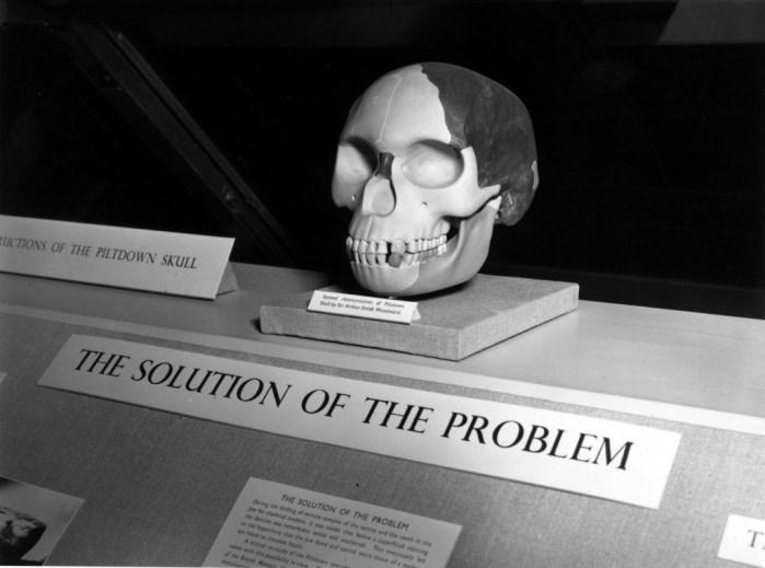 Bufala scienza scheletro Piltdown