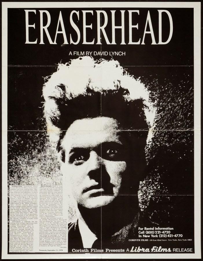 ERASERHEAD - American Poster 3