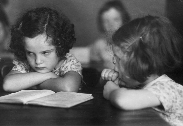 Sulking Schoolgirl