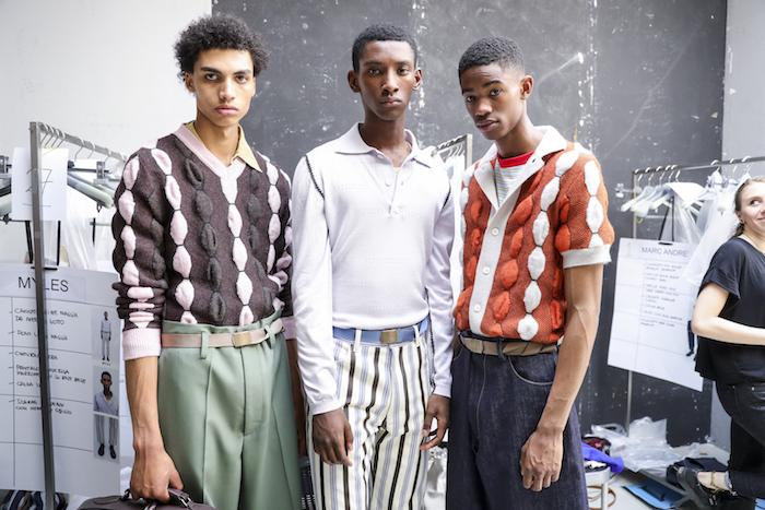 Marni - Backstage - Milan Men's Fashion Week Spring/Summer 2018