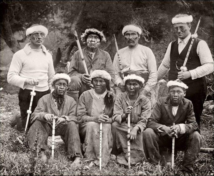 nativi Terra del Fuoco