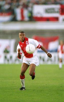 Edgar Davids nel 1993, con la maglia dell'Ajax. Shaun Botterill/Getty Images