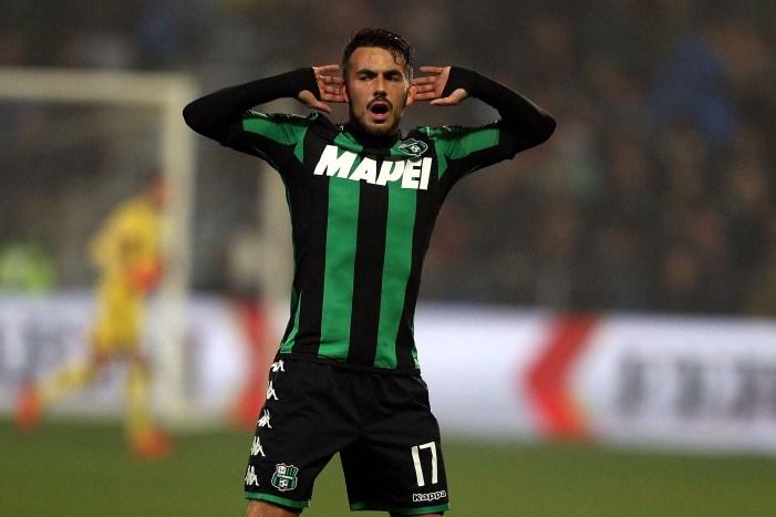 Sansone In gol contro la Juventus