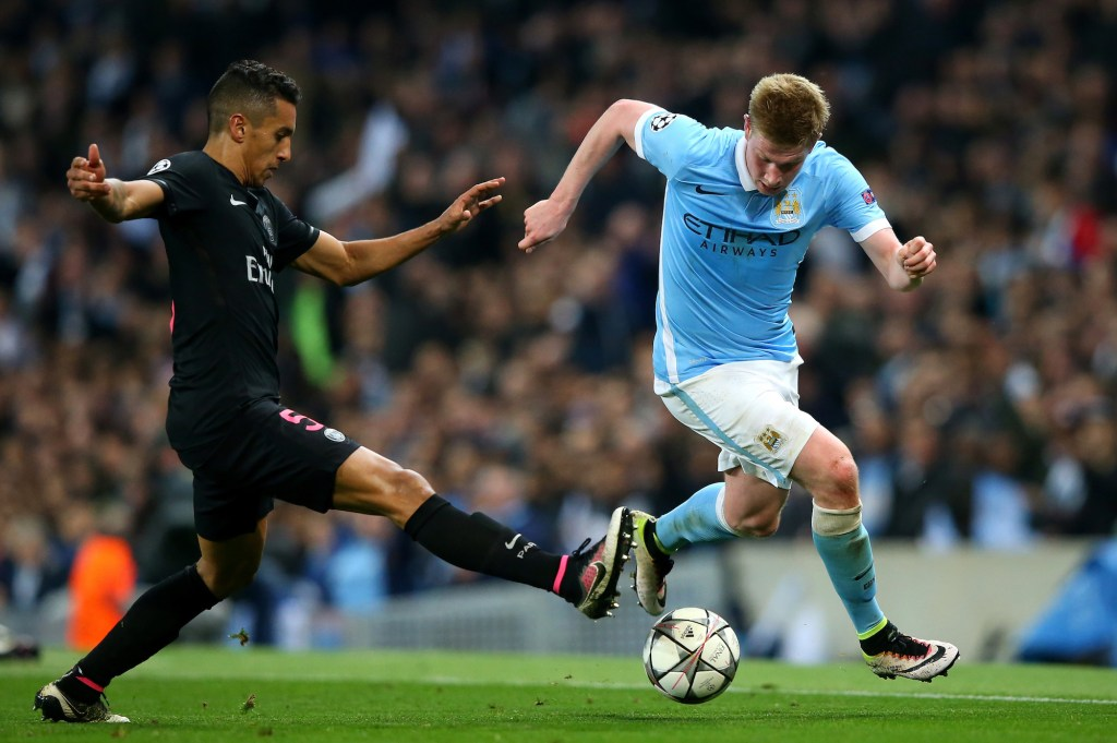 Manchester City FC v Paris Saint-Germain - UEFA Champions League Quarter Final: Second Leg