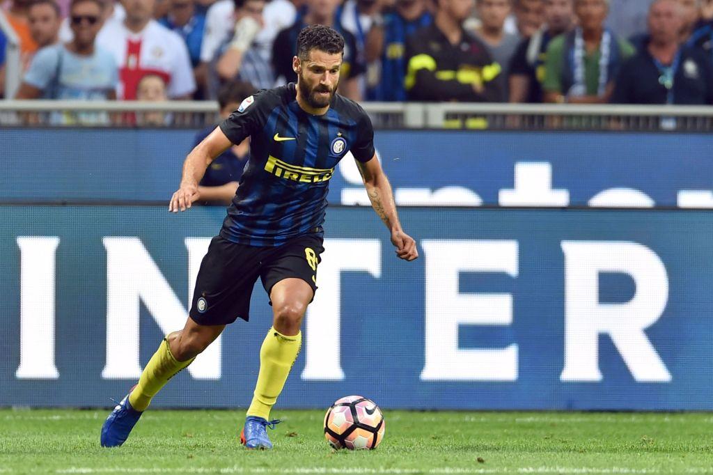 Antonio Candreva in azione contro il Palermo (Giuseppe Cacace/AFP/Getty Images)