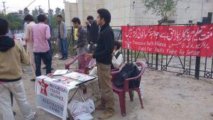 Banchetto all'università di Rawalpindi
