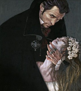 Anne Yvonne Gilbert illustrates The Vampyre and Other Macabre Tales2