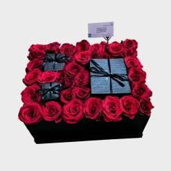هدايا رجالية مع الورد الطبيعي