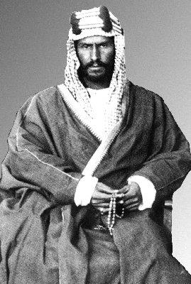 Abdul Aziz bin Abdul Rahman Al Saud (Ibn Saud) in 1910