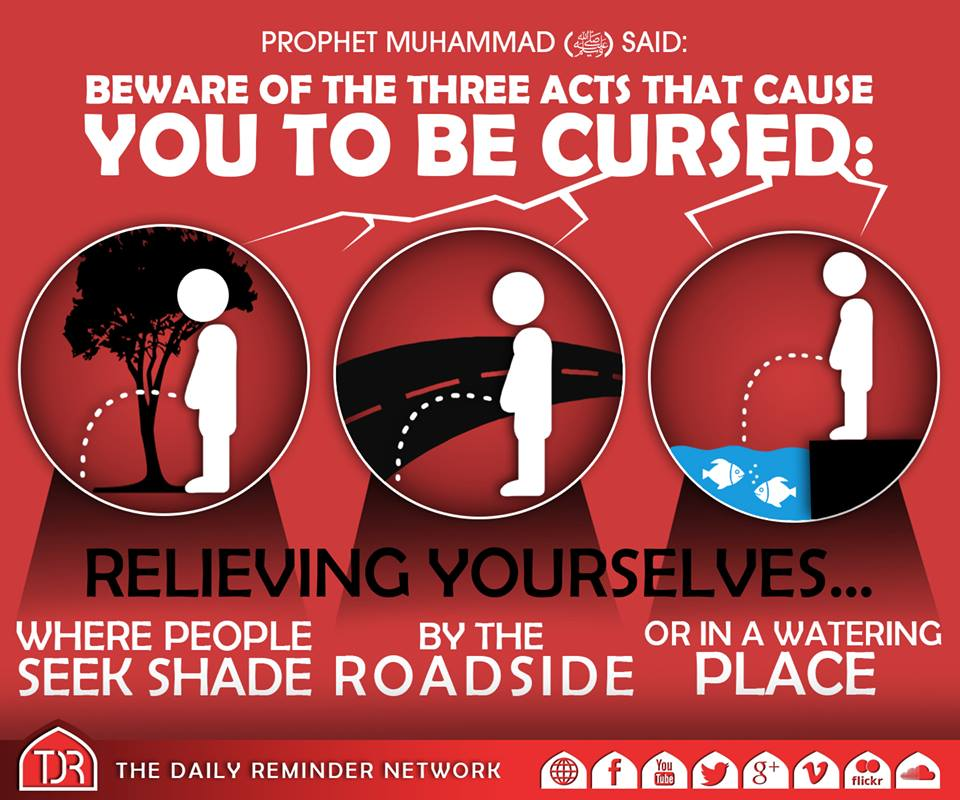Three Acts Cause to Be Cursed