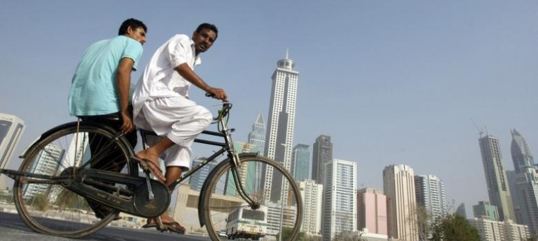 Dubai Forgein worker
