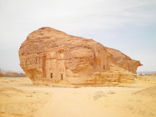 Mada'in Saleh could be a major tourist site.