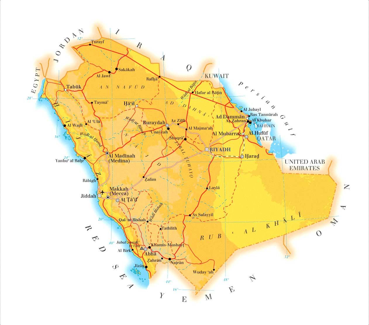 detailed_road_map_of_saudi_arabia