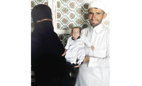 Pakistani expat Mohammed Ishaq whose daughter was born prematurely with his wife. (AN photo)