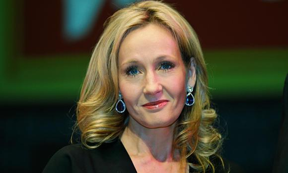 British author J.K. Rowling