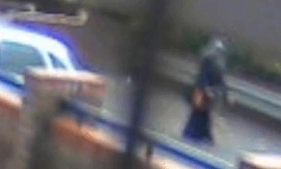 CCTV footage released by police shows Nahid walking to university shortly before her murder.