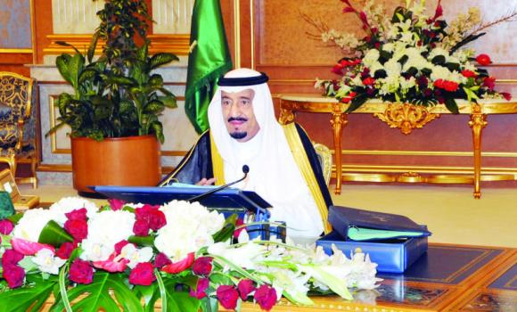 Deputy Custodian of the Two Holy Mosques Prince Salman chairs the weekly Cabinet meeting in Jeddah. (SPA)