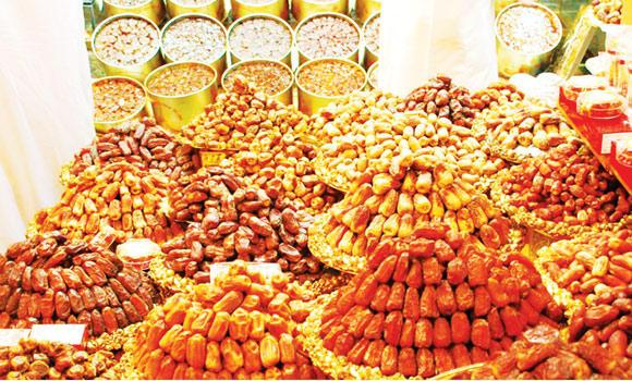 Dates are in much demand during the peak season of Ramadan.