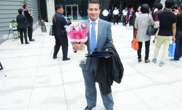 Fuad J. Al-Fagheeh, who graduated from Seoul National University of Science and Technology recently, has now been employed by SK Engineering & Consulting in South Korea.