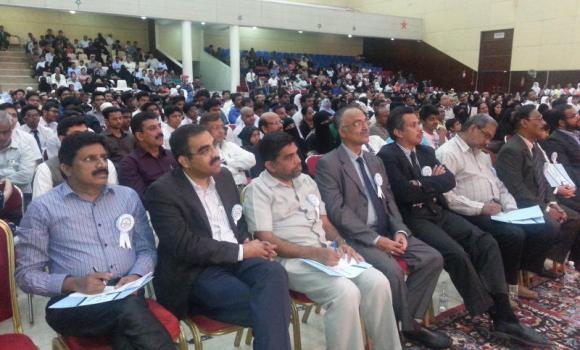 A view of the participants who attended the award ceremony at IISJ on Thursday.