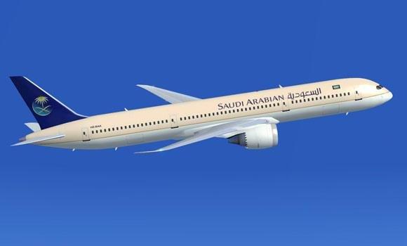 Saudia-airlines,-flight