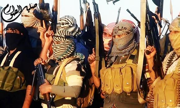 An image grab taken from a propaganda video uploaded on June 8, 2014, by the jihadist group the Islamic State of Iraq and the Levant (ISIL) allegedly shows ISIL militants near the central Iraqi city of Tikrit.