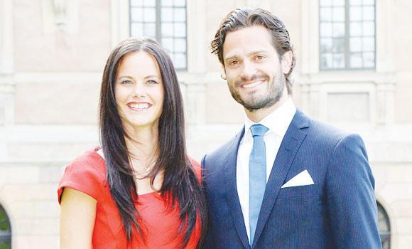 Swedish Prince Carl Philip and Sofia Hellqvist announce their engagement at The Stockholm Palace, in Stockholm.