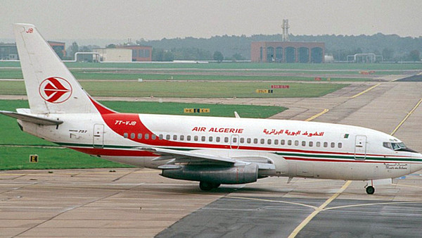 An undated file picture shows a similar aircraft to the Air Algerie Boeing 737-200 passenger plane.
