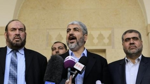 """We kill their soldiers, they kill our civilians,"" the Hamas leader said."