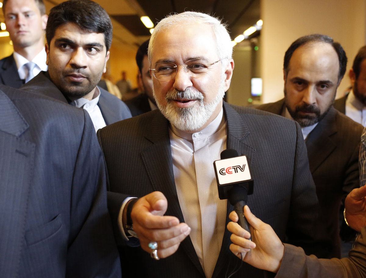 "Iran's Foreign Minister Mohammad Javad Zarif said, ""The decisive time approaches when the temporary nuclear deal could be turned into a global solution. I press them to not allow illusions to derail a process that will allow an end to a pointless crisis and an opening to new horizons."""