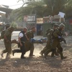 Palestinian commando kill five Israeli soldiers