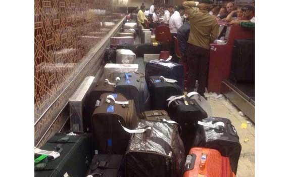 Jeddah airport luggage-carousel