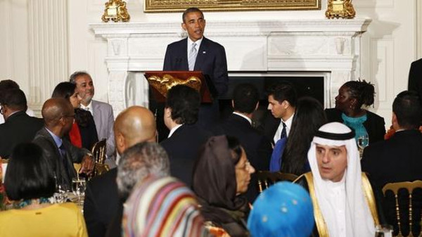 U.S. President Barack Obama hosted Tuesday an Iftar at the White House in celebration of the Holy Month of Ramadan.