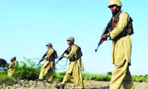Suspected militants killed a Pakistan Army captain and two soldiers in an attack early Saturday in Bajur tribal region, near Afghanistan border.