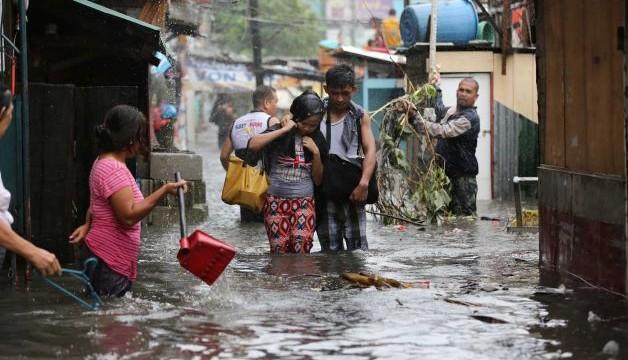 Philippines Typhoon Rammasun