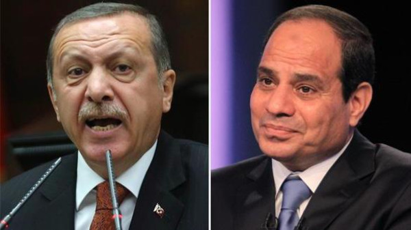 Recep Tayyip Erdogan said Cairo could not be relied upon to negotiate a truce with Israel.