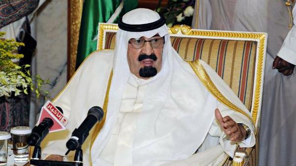 Saudi Arabia's king Abdullah bin Abdulaziz.