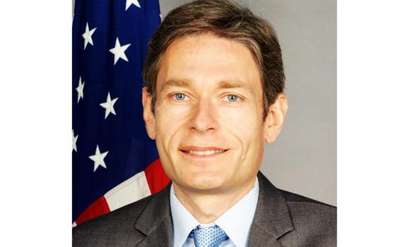 This undated photo posted on the US State Department website shows Tom Malinowski, Assistant Secretary of State for Democracy, Human Rights and Labor.