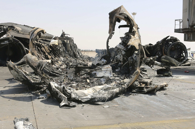 Fighting has continued from Misrata this week for control over Tripoli International Airport