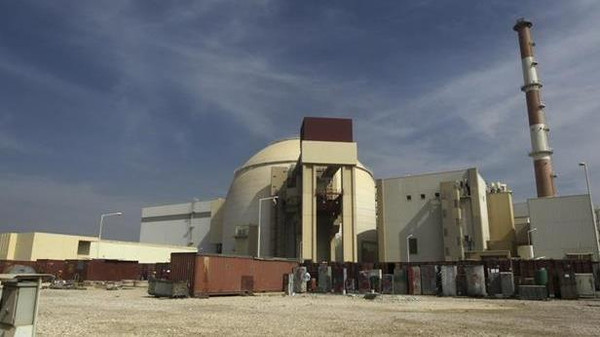 The Bushehr nuclear facility in Iran.